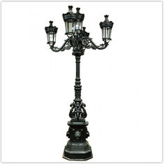 Decorative Victorian Style Garden Lamp Post Antique 3m-15m Height