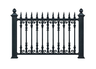 Wrought Iron Gate Match Temporary Outdoor Fence For Home Ornament