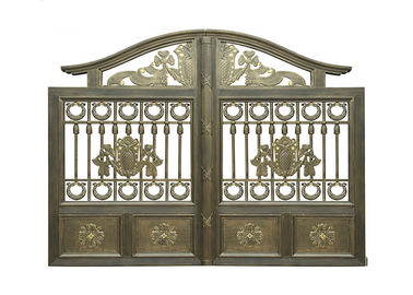 Architectural Wrought Iron Cast Iron Garden Gate European Style