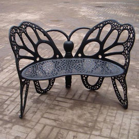 Eco - Friendly European Metal Garden Table And Chairs Ends For Hotel / Balcony