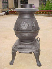 Waterproof Cast Iron Garden Chimney / Cast Iron Wood Burning Stove