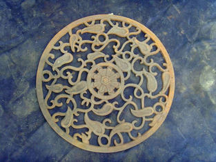 European Antique Metal Art Cast Iron Doormat For Outdoor Decorative