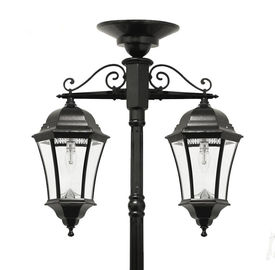China Aluminum Cast Iron Light Pole For Garden Street Lighting Outdoor Lamp Post supplier
