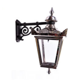 Classical Indoor Decorative Wrought Iron Wall Lamp Modern For Light Pole