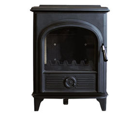 Steel Chimney Cast Iron Wood Burning Stove Antique Bronze Color