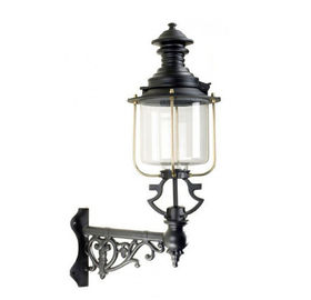 Antique Cast Iron Lamp Post Classical Wall Light Pole For Yard Decoration