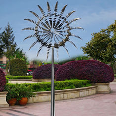 Metal Art Famous Modern Outdoor Garden Stainless Steel 2 M Diameter Wind Sculpture