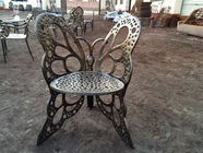 Classical European Cast Iron Table And Chairs Aluminum Patio Furniture
