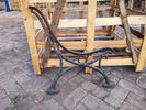 Antique Cast Iron Bench Legs Seat Frame European Art Design Anti - Aging