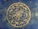 China European Antique Metal Art Cast Iron Doormat For Outdoor Decorative company