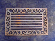 China Rectangle Cast Iron Outdoor Doormats For Unique Christmas Non - Slip company